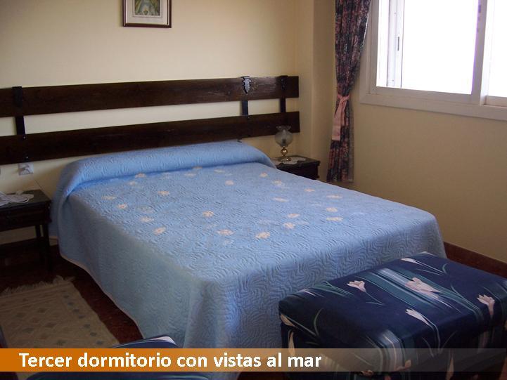 Tercer dormitorio con vistas al mar