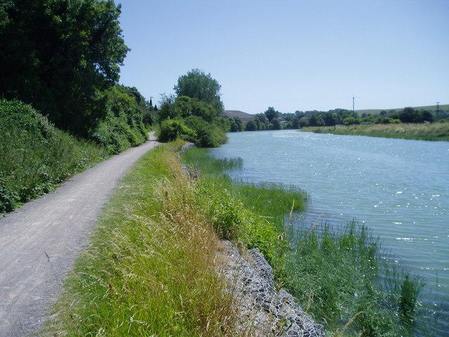 Downs Link by River Adur