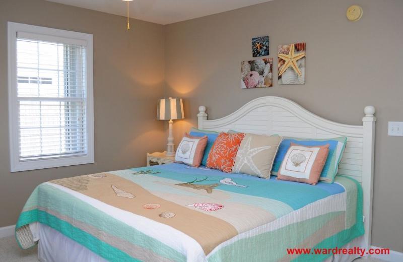 Top Floor Master Bedroom with King