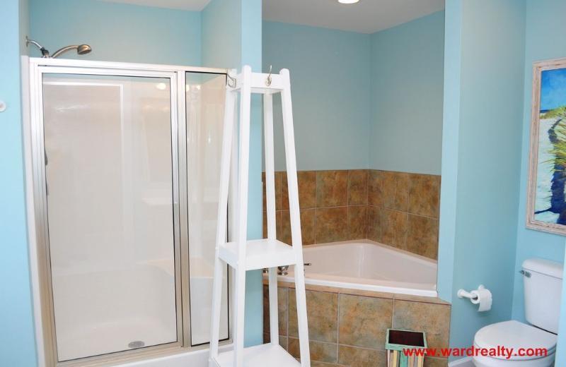 Master Bathroom w/ Whirlpool Tub & Shower