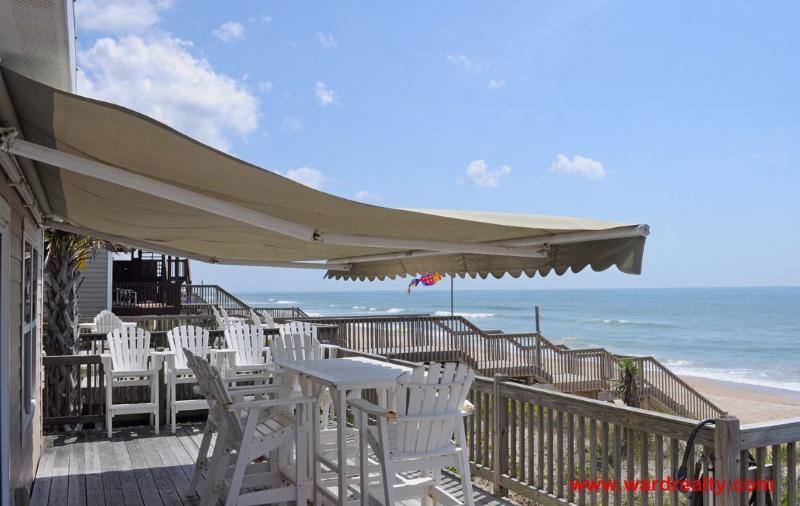 Oceanfront Sun Deck w/ Retractable Awning
