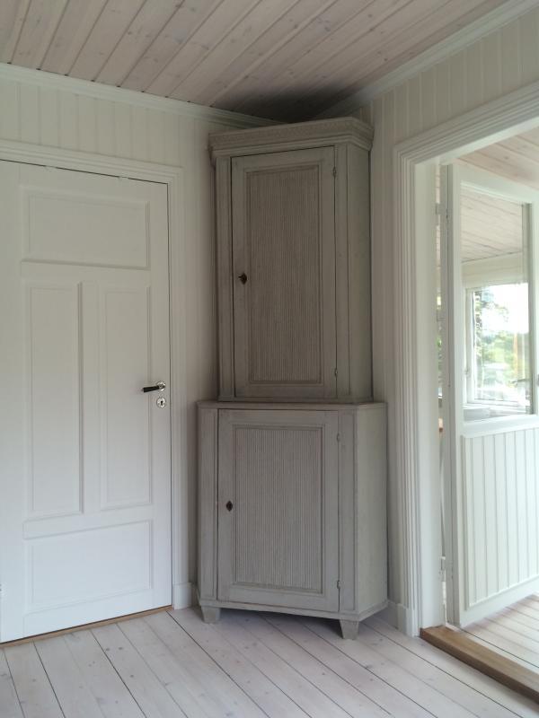 Cabinet outside bedroom