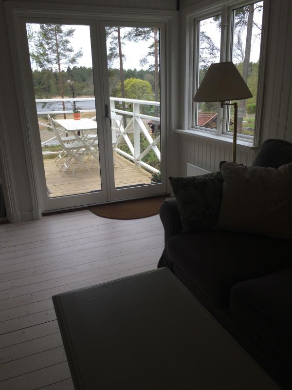 Photo taken from living room