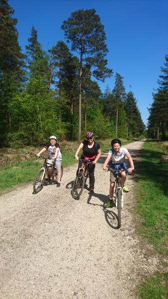 Enjoy a day of fun and adventure exploring the 200km of New Forest cycle tracks