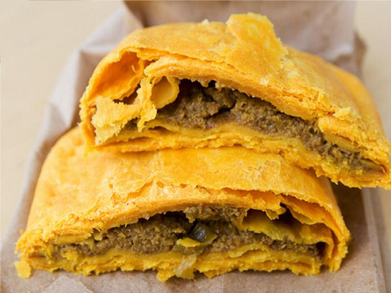 The world renowned Jamaican patty.