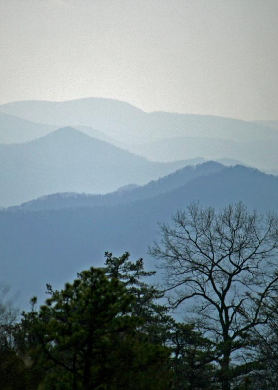 The Rose Cottage is only minutes away from the Blue Ridge Parkway.