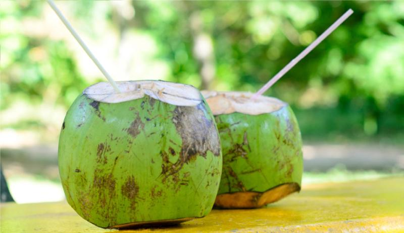 The ever enjoyable and refreshing coconut water.