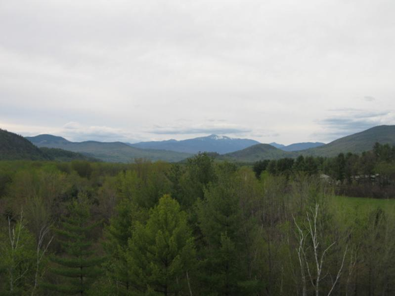We are smack in the middle of the beautiful White Mountains of New Hampshire!