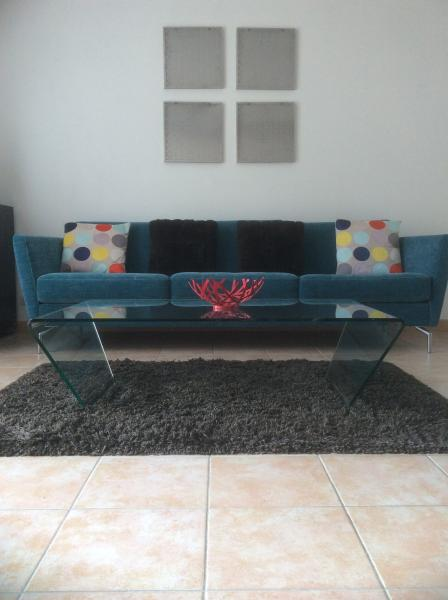 Large sofa in lounge