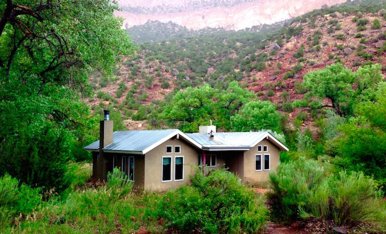 Dragonfly cottage at Desert Willow, holiday rental in Jemez Springs