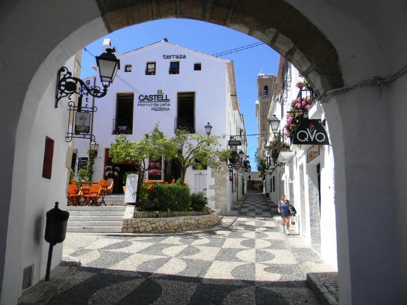 Altea centro histórico