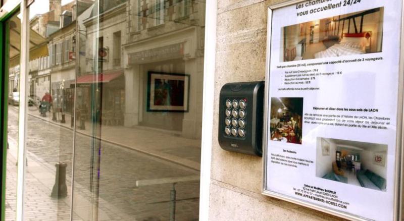 Centre Ville 22 rue Saint Jean 02000 LAON, location de vacances à Ribemont
