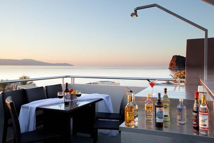 Sunny Point Villas, location de vacances à Agia Marina
