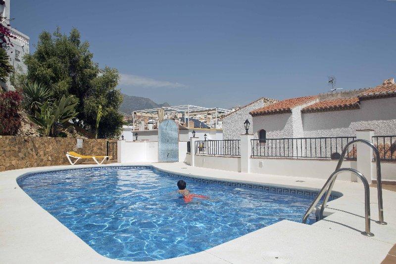 Pool at No. 7 Litoral, Nerja (Andalucian Villas ltd)