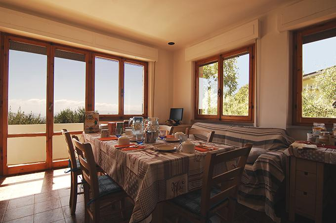 Bed and Breakfast Stars Over the Sea, alquiler vacacional en Fosdinovo