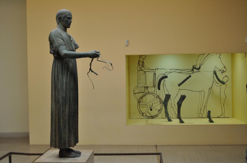 MUSEUM DE DELFE 300KM DE LITOCHORO