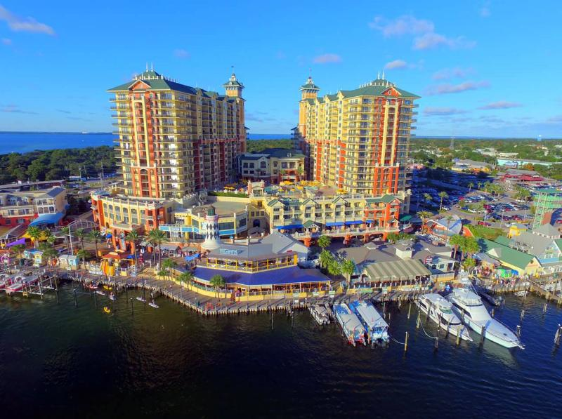 The Emerald Grande, Destin Harbor.