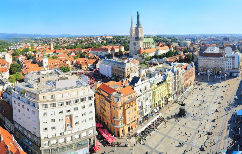 MAIN SQUARE APARTMENT, alquiler vacacional en Zagreb