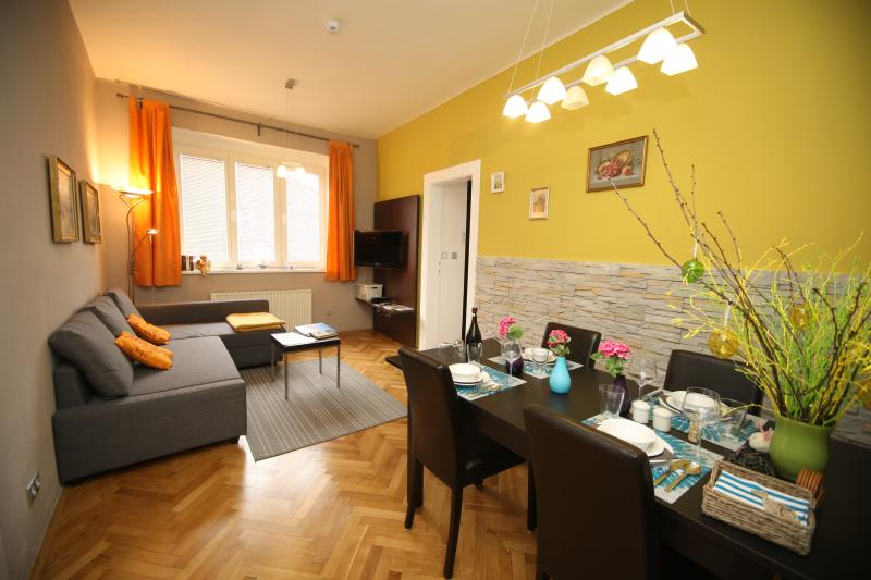 Sunny accommodation near centre, location de vacances à Radonice