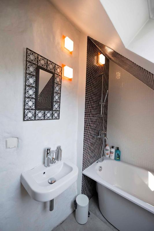 view to the bathroom