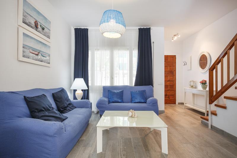 Casa con jardín en la playa, alquiler de vacaciones en Vilanova i la Geltrú