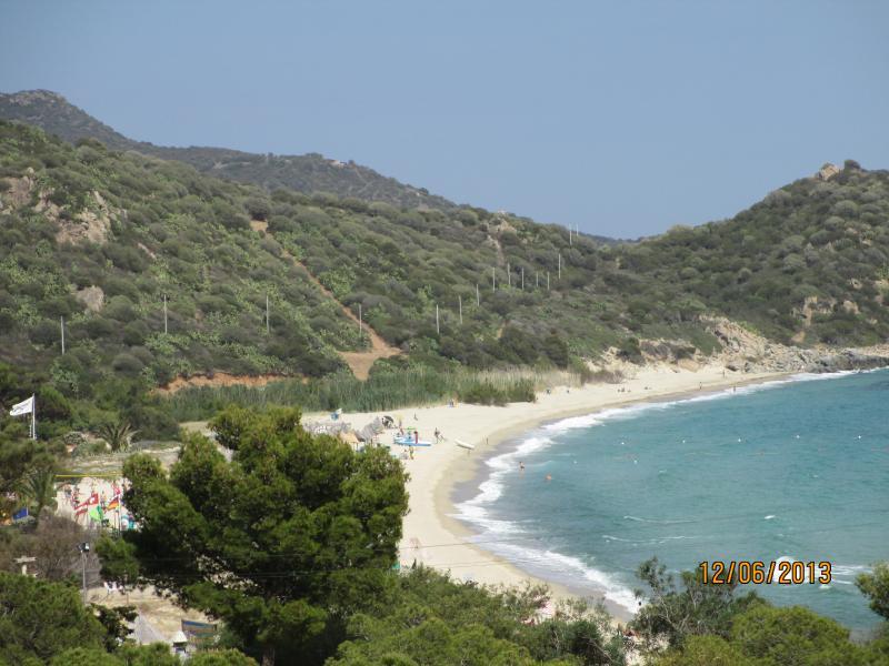 Altra vista spiaggia di campus