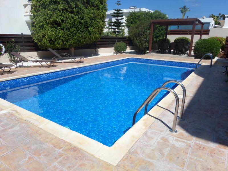 Large 10m x 5m pool to cool down in