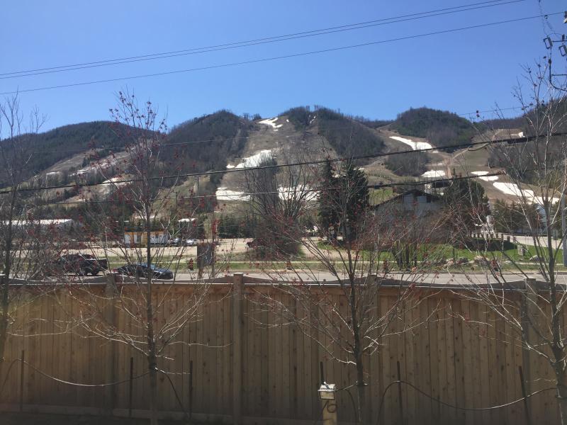 Backyard views of the Georgian Peaks Ski Club