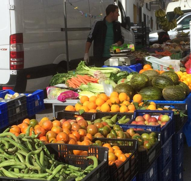 Castril's Friday market