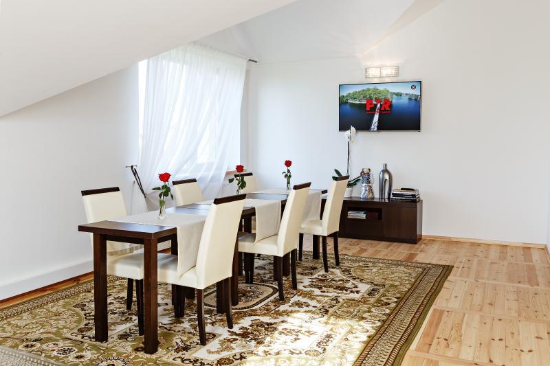 Modern apartment + dental care services, alquiler vacacional en Condado de Kaunas
