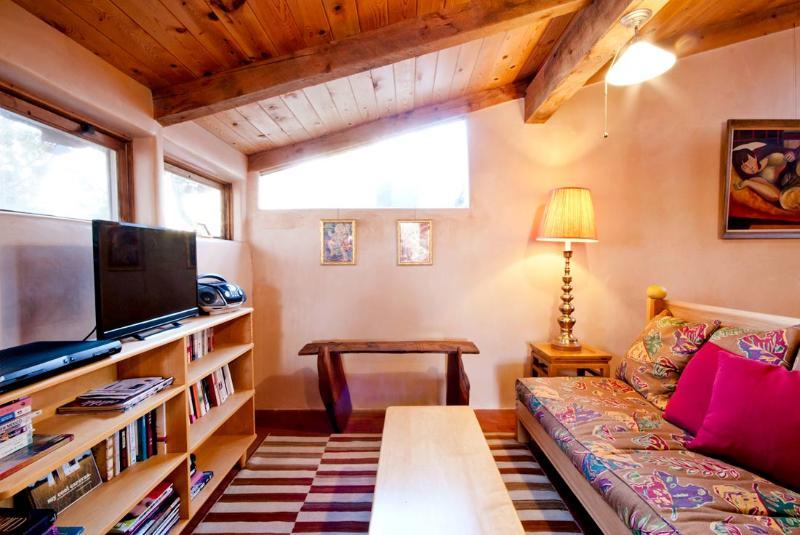Sun Room lounge area with TV