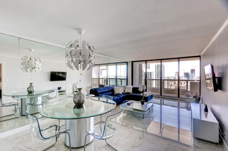 Your ultimate oasis awaits in this contemporary Miami vacation rental condo