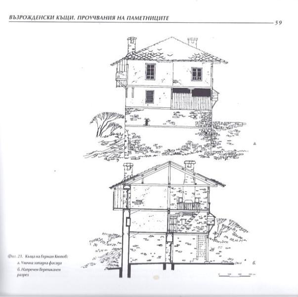 Q.pova house, Western  facade.