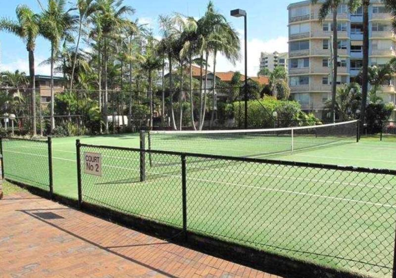 Two full sized tennis courts for your enjoyment. Raquets and balls for hire.