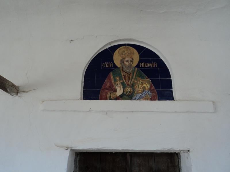 Saint Nicholas village's church.