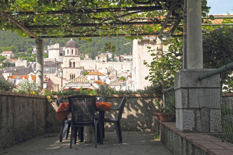 Terraca in the garden