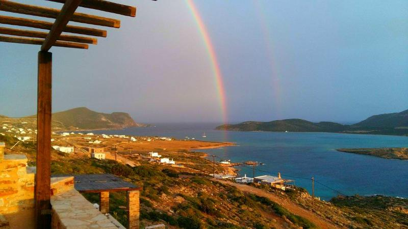 S/E View with Double Rainbow
