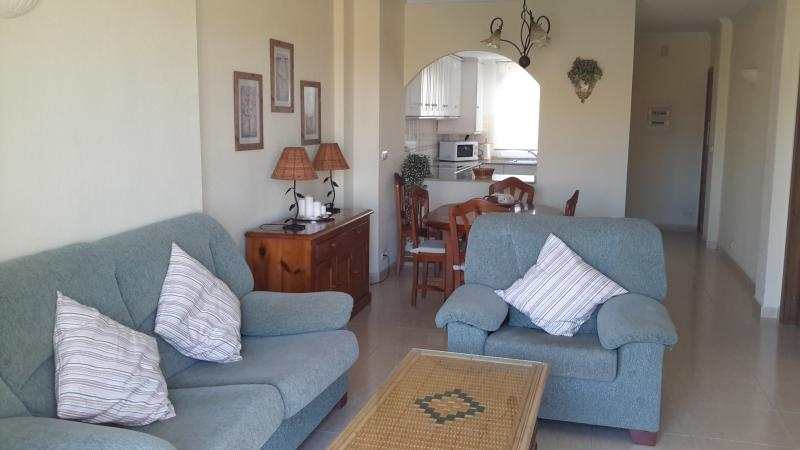Spacious Lounge/Dining Room with Sat TV/DVD