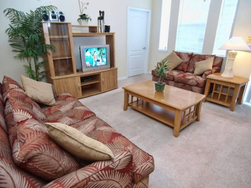 Living Room with TV provided
