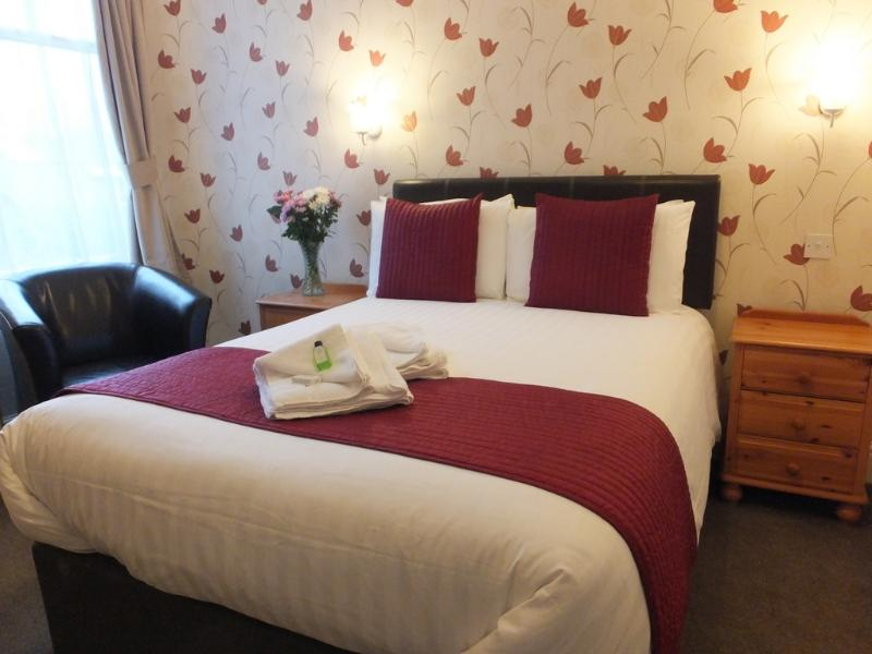 Double ensuite room with shower. For two adults only. No additional guests can be accommodated.