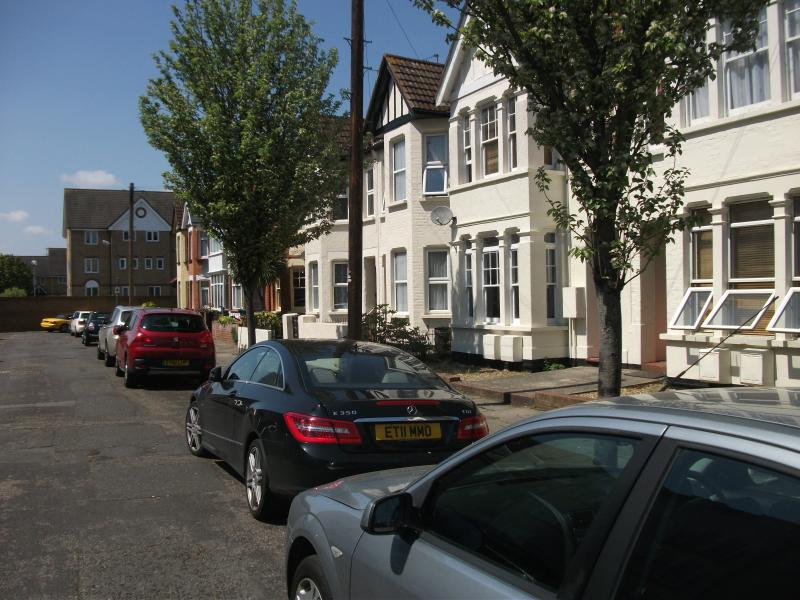 Alexandra Road (Apartments on the Right)