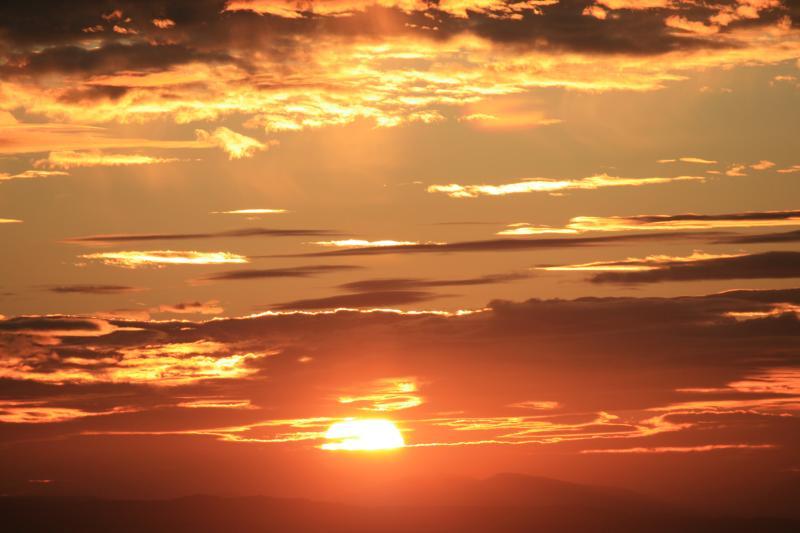I tramonti più belli del pianeta ...