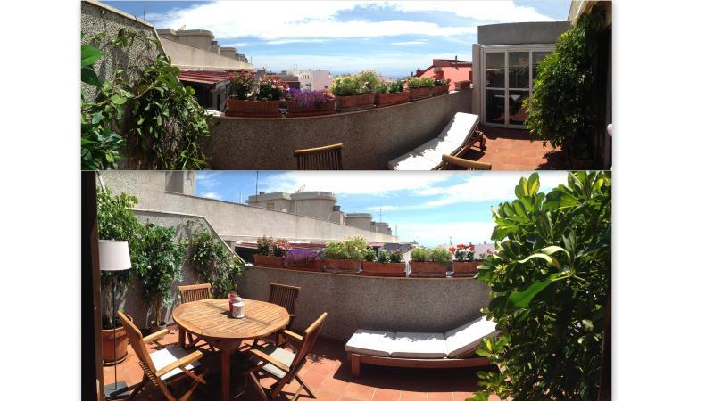 Vista panorámica terraza