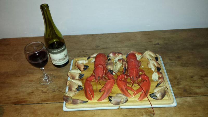 Yep !! Straight out of the sea at Ballyconneely and all FOC !!!!