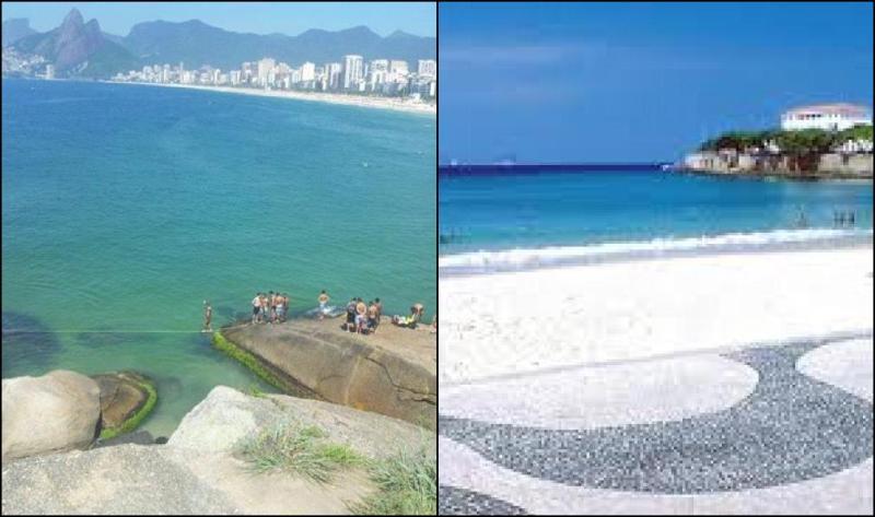 Praia de Ipanema Pedra do Arpoador e Praia de Copacabana e seu famoso calçadão!