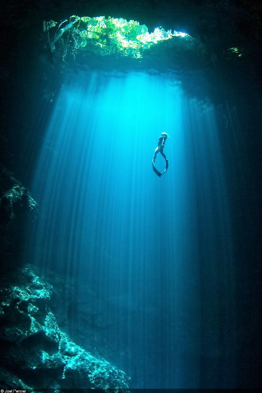 Cenotes throughout the area
