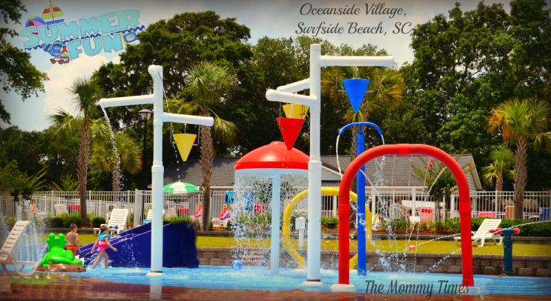 Another view of splash pool area.