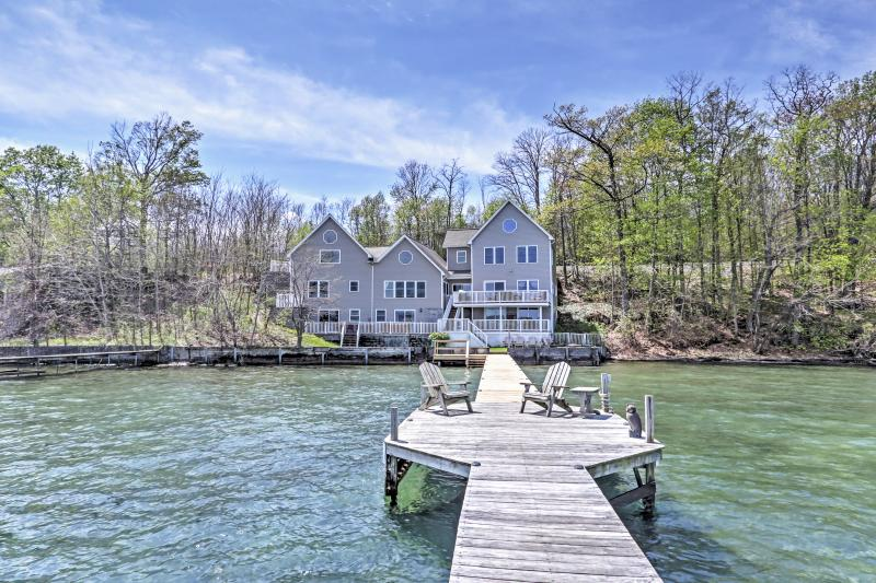 Welcome to Lakeside Harmony, a waterfront vacation rental home on Seneca Lake!