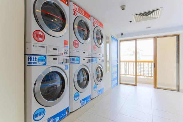 SELF OPERATED LAUNDRY ROOM @ RESIDENT PRIVATE FACILITIES FLOOR