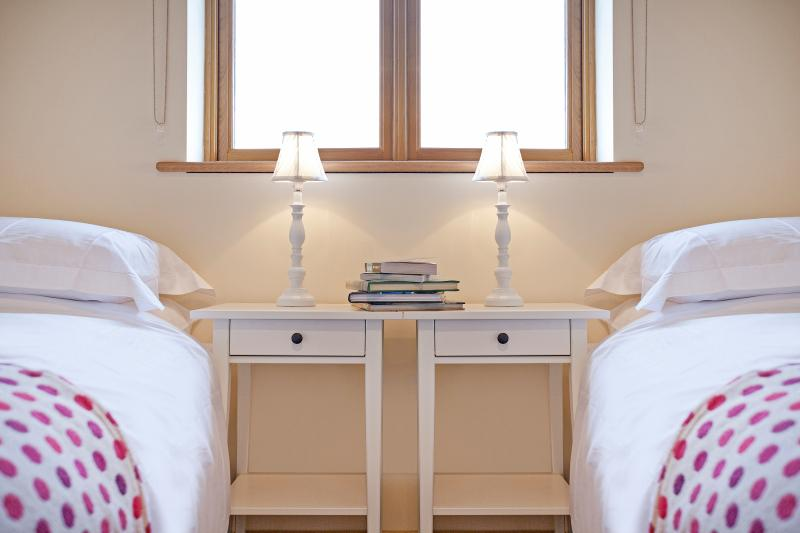 Twin beds available on request
